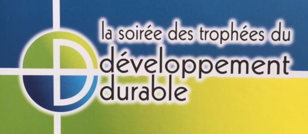 Remise du Trophée Innovation du DD par ANJ