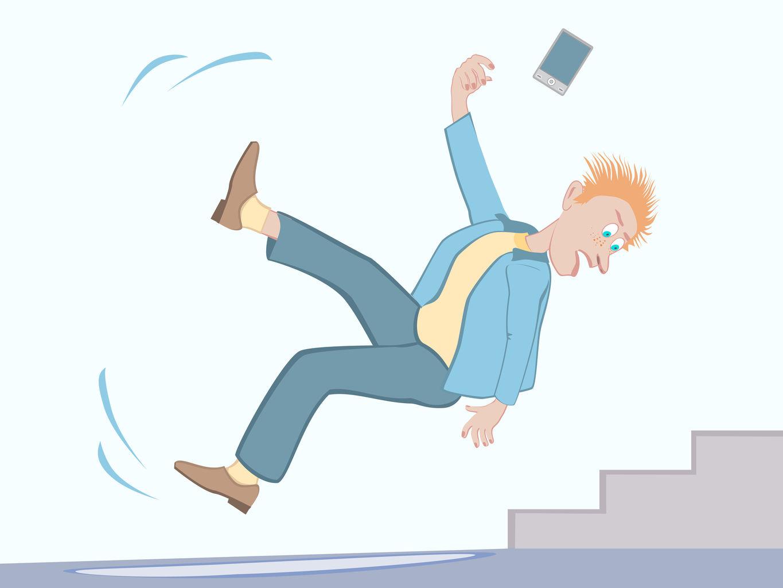 sensibiliser aux risques de chute et aux accidents du