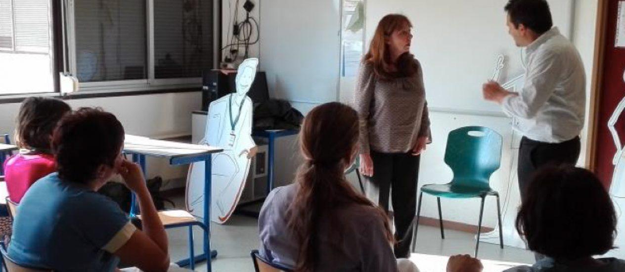 Des sketches itinérants sur le handicap pour le CHU de Toulouse