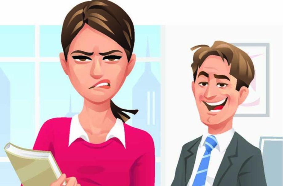 Saynète sur les agissements sexistes
